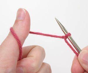 backward loop cast on method for knitting backward loop cast on a how to knitting tutorial