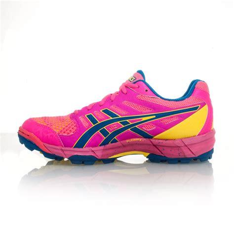 asics gel lethal elite 5 womens turf shoes pink