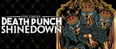 five finger death punch ashes five finger death punch and shinedown t mobile arena