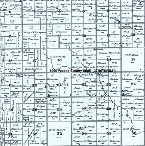 Section Township Range Map Oklahoma 28 Images Logan