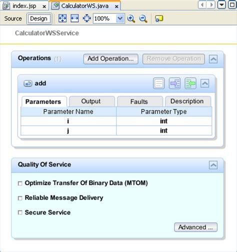 design html netbeans netbeans ide web services development