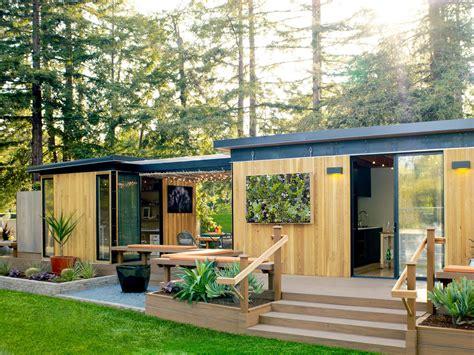 modular guest house california meet our california prefab home sunset magazine sunset