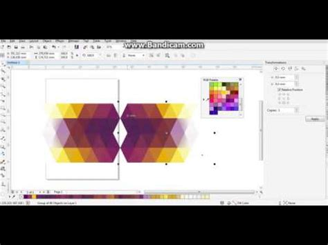 corel draw x7 remove background tutorial membuat background lowpolly dengan coreldraw x7