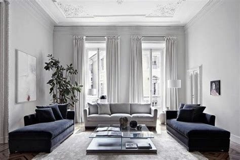 Emejing Decoration Salon Bleu Marine Contemporary | Www ...