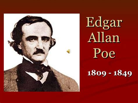 biography by edgar allan poe edgar allen poe