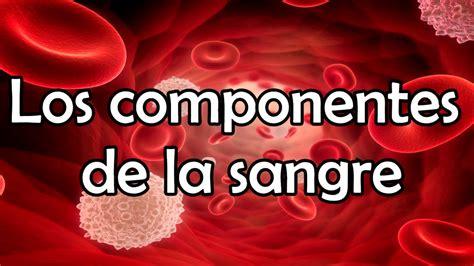 la sangre de los los componentes de la sangre youtube