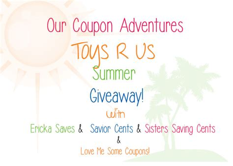 Toys R Us Giveaway - toys r us summer giveaway enter to win a 30 toys r us gift card