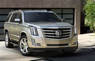 Pictures Of A Cadillac Escalade 2015 Cadillac Escalade Makes Nyc Debut