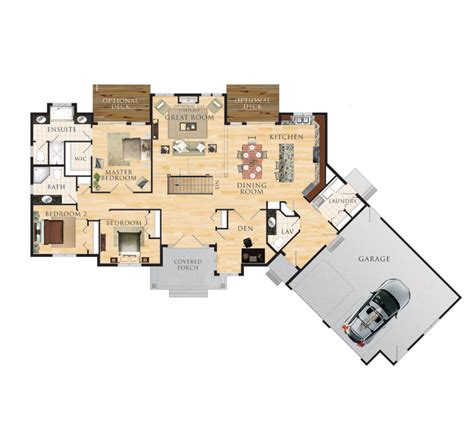 house plan finder eddystone floor plan 2 000 square feet angle garage