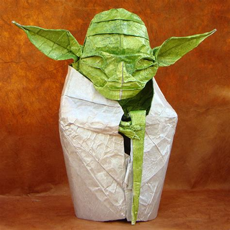 Simple Origami Yoda - do or do not do origami there is no try