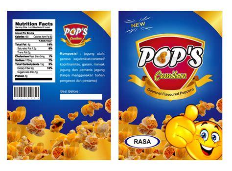 desain kemasan label galeri desain label kemasan produk snack