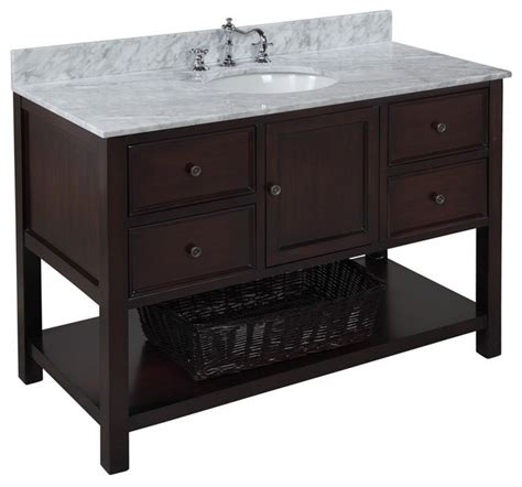 houzz vanity kitchen bath collection new yorker bath vanity bathroom