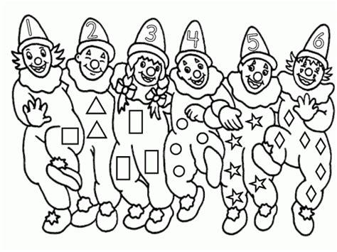 dibujos infantiles para colorear de payasos payasos para colorear