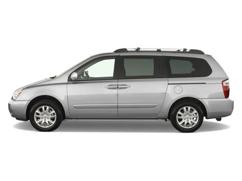2008 Kia Sedona Battery Image 2008 Kia Sedona 4 Door Lwb Ex Side Exterior View
