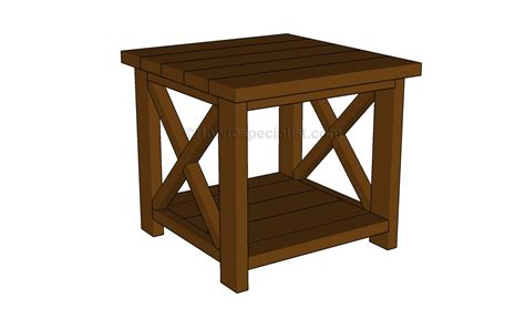 woodwork diy wood crate end table plans pdf
