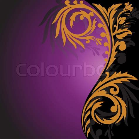Modern Art For Home Decor by 1814671 Abstract Black And Purple Background With
