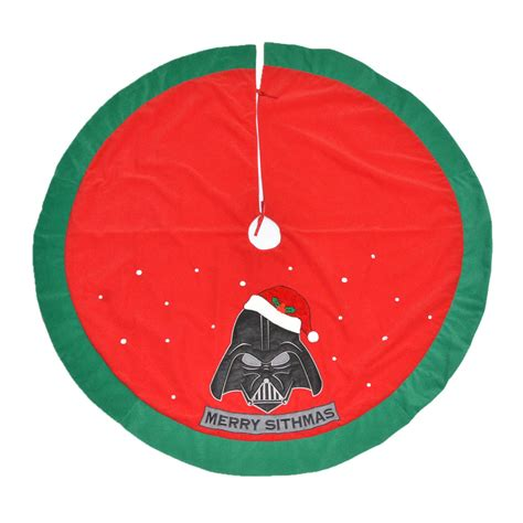 star wars 48 quot star wars tree skirt seasonal christmas