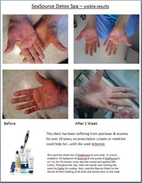 Detox Spa Before And After arbonne seasource on arbonne detox spa and