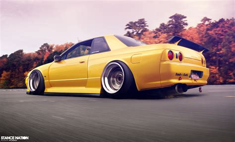 stanced nissan skyline bumbaiyoulearn november 2011