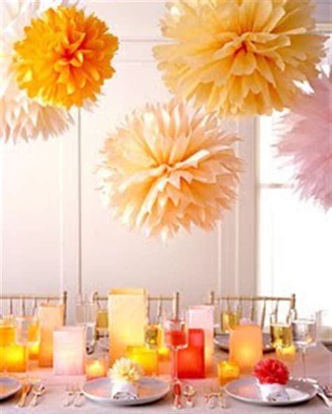 How To Make Tissue Paper Flowers Martha Stewart - mmusings diy tissue paper pom pom flowers