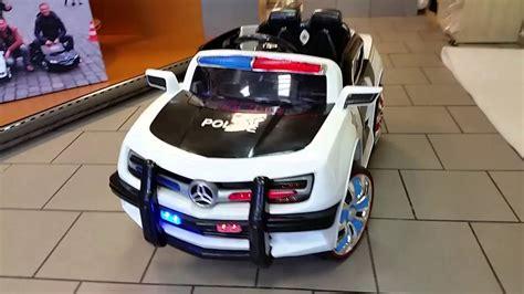 Kinder Auto Zum Fahren by Polzeiauto Kinderauto 12v Fernbedienung Usb Neu 2016 Youtube