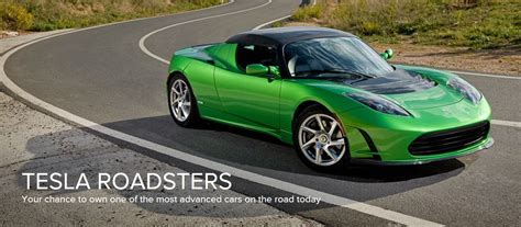 Used Tesla Tesla Starts To Sell Pre Owned Roadsters Inside Evs