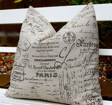 Script Pillow by Sham Pillow Throw Pillow Cover One By