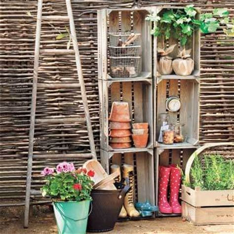 garden shed organization ideas creative storage ideas for your garden shed using items