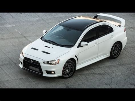 new mitsubishi evo 2017 2017 mitsubishi lancer evolution x inspired design youtube