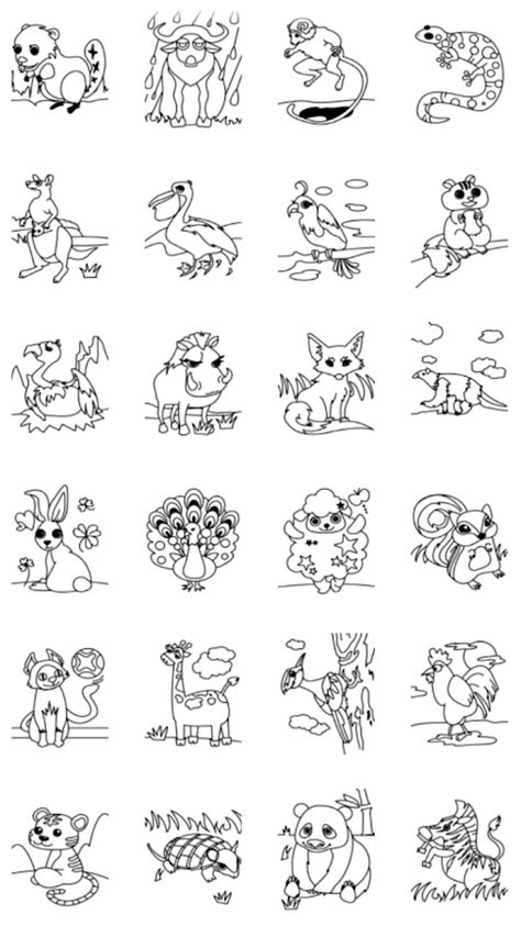 coloring pages of land animals kids coloring land animals android apps on google play