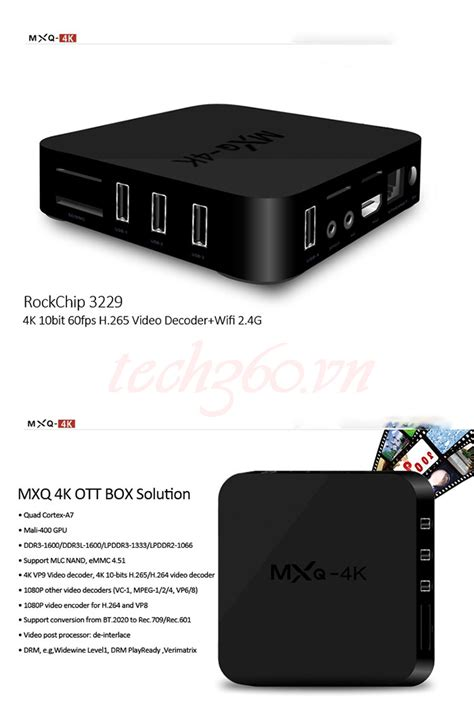 Android Tv Box Mxq android tv box mxq 4k tech360