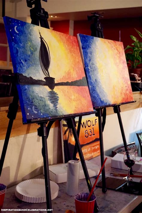 paint nite pass paint nite a date that inspires creativity