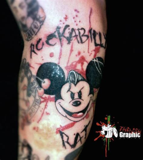 all you need to know about trash polka tattoos
