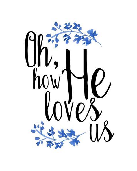 printable christian lyrics oh how he loves us print david crowder lyrics