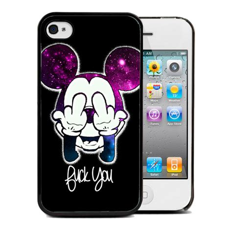 coque housse iphone 4 4s 5 5s 6 mickey swag walt disney tpu ebay
