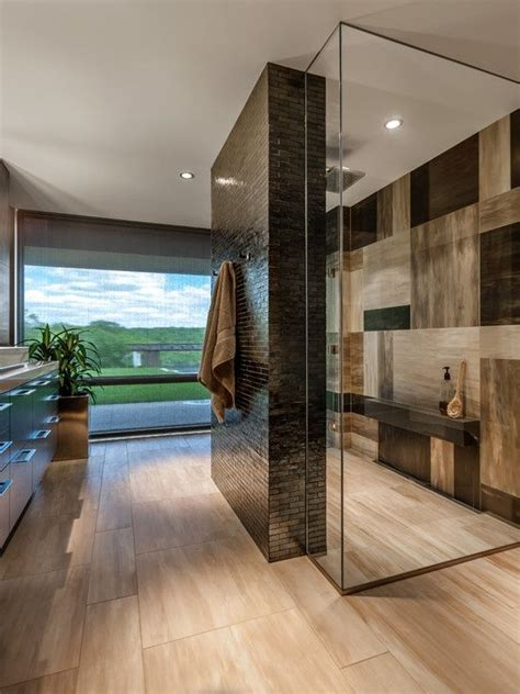 Contemporary Bathroom Tile Ideas by Shower Room Design