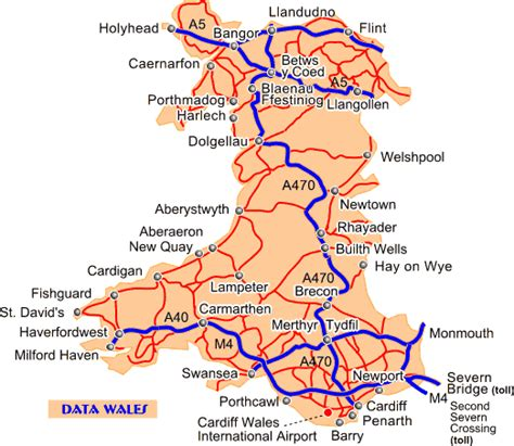 printable road map of england and wales wales uk where we are