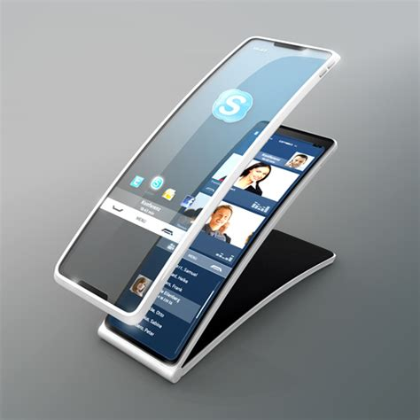 high tech 360 hello tomorrow phone concept