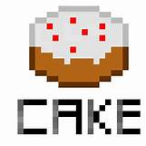 Minecraft Cake In Game Crafting | 400 x 400 jpeg 3kB