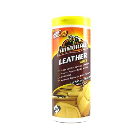 Leather Wipes by Armorall Leather Wipes 24 Pack