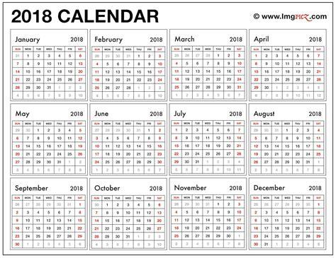 2018 calendar template excel nz 2018 printable calendar template excel pdf ms word