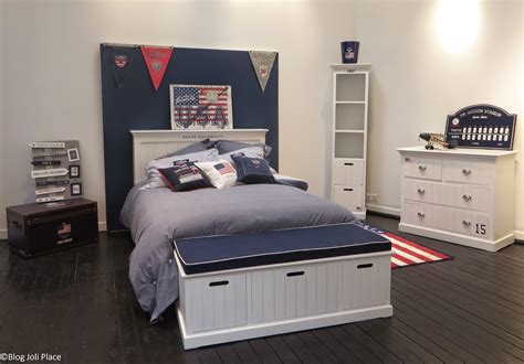 decoration usa pour chambre decoration chambre style usa