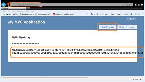 html5 asp net mvc 4 layout changing stack overflow u2 using unidynarray on asp net mvc view page stack