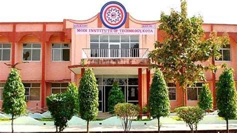Mba College In Kota Rajasthan by Modi Institute Of Technology Mit Kota Courses Fees