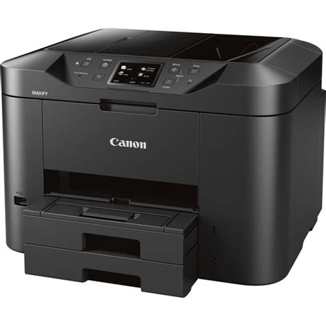 Canon Printer Maxify New Mb canon maxify mb2720 wireless home office all in one 0958c002 b h