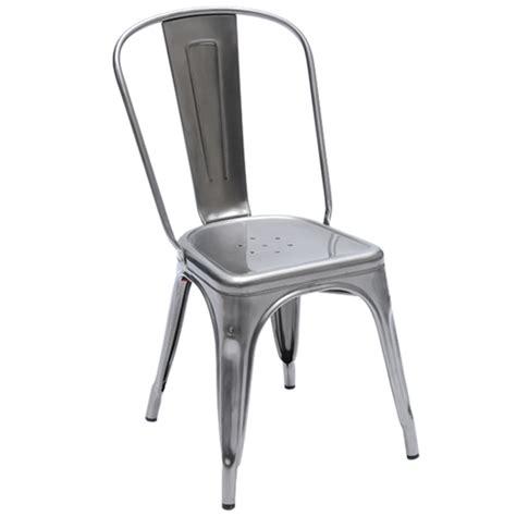 sedia in metallo tolix sedia a metallo design shop