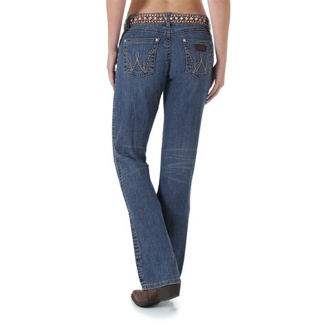 wrangler mae premium patch jean for women save 50