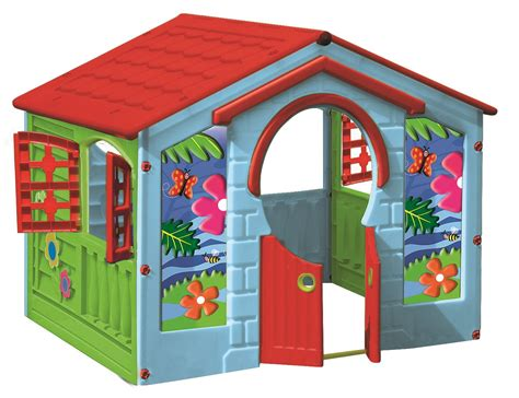 playhouse childrens farm house garden summer outdoor