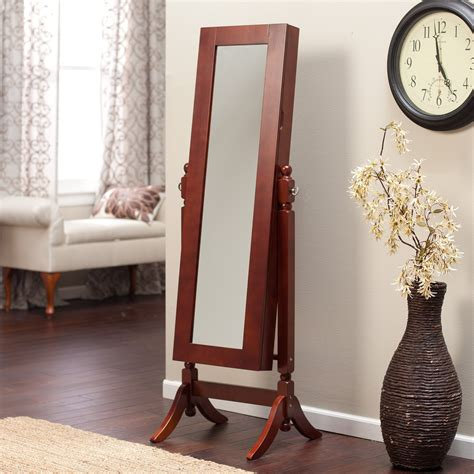 Heritage Jewelry Armoire Cheval Mirror by Heritage Jewelry Armoire Cheval Mirror Cherry Jewelry
