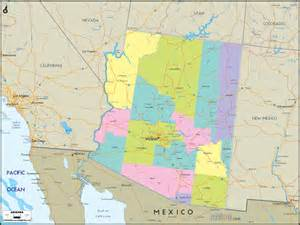 southern arizona counties maps pictures to pin on